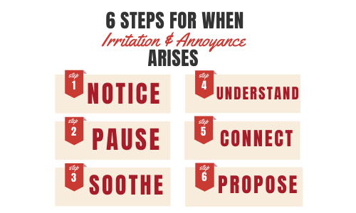 6 Steps for When Annoyance or Irritation Arises